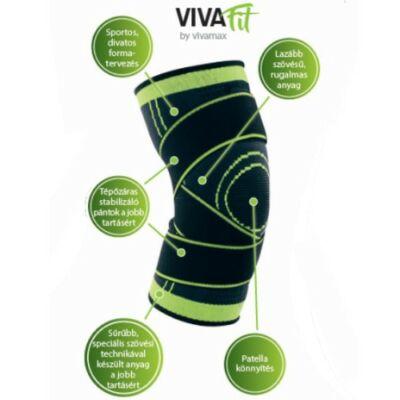 Vivafit sport térdszorító stabilizáló pántokkal